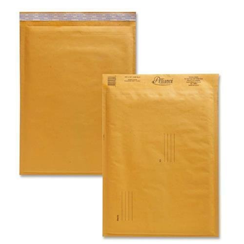 (10807 Alliance Rubber Kraft Bubble Mailer - Bubble - #5 (10.50