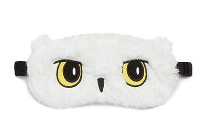 Masque de sommeil Harry Potter Hedwig Hedwig Hibou Masque de sommeil de voyage pour dormir Jolis yeux doux Cadeau BNWT