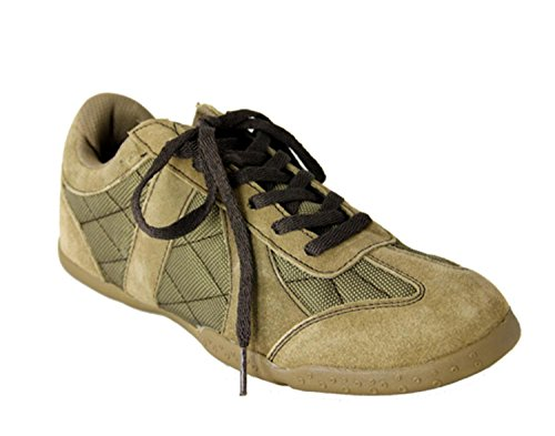 AVON Women's Sage Green Suede Quilted Sneaker Shoes - Size 9