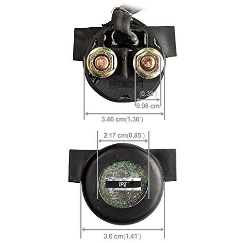 1PZ H25-S01 Premium Starter Solenoid Relay for Honda TRX250EX TRX 250 EX Sportrax 2002 2003 2004 2005 2006 2007 2008 by 1PZ (Image #1)