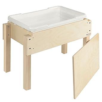 Amazon.com: Mesa de diseños wd11812 Petite Tot Arena y Agua ...
