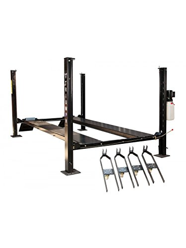 TRIUMPH NSS-8XLT 8000Lbs 4 Post Storage Service Lift Oversized (Best Home Car Lift)