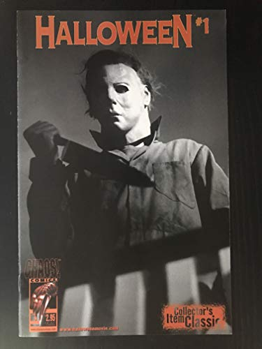 Halloween 2000#1 first printing Chaos Comic Book Origin of Michael Myers -