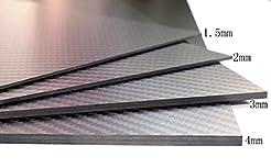 cncarbonfiber 2.0mm 200x300mm 100% Carbo...