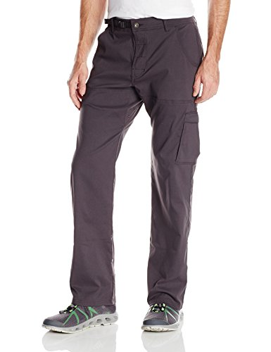 prAna Men's Stretch Zion Pant 32-Inch Inseam, Charcoal, XX-Large