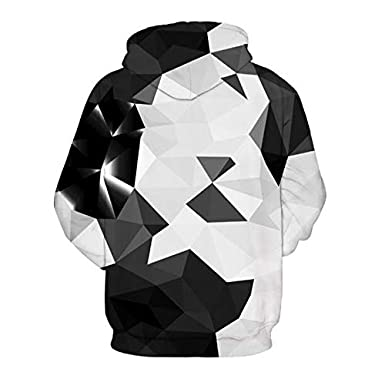 LHJY 3D Sports Sweater Digital Print Hat Hat Casual Wear Big Size Sweater