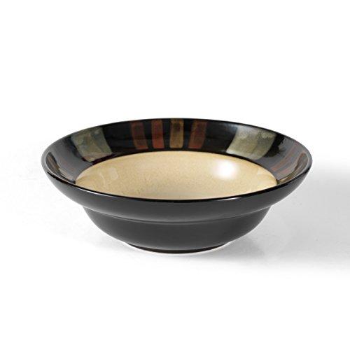 (Pfaltzgraff Tahoe Round Vegetable Bowl (10-Inch, Red, Beige, Black))