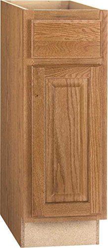 Continental Cabinets Kitchen Cabinets 2478207 Rsi Home Products Hamilton Base Cabinet Fully Assembled Raised Panel Oak 9x34 1 2x24