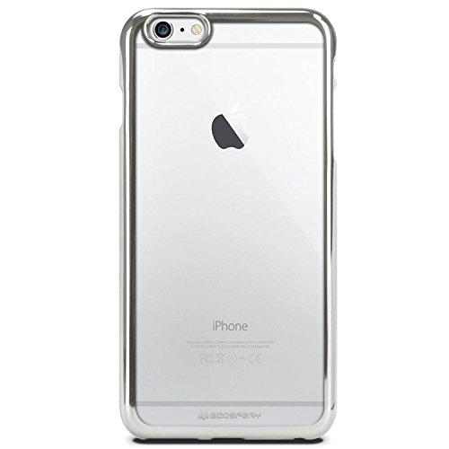 iPhone 7 Hülle, [RING2] VENTER® [Ultra Slim Fit] Jelly Hülle [Metallic Rand Finish] Premium-TPU Hülle [Anti-Vergilbungs / Entfärbung Finish] für iPhone 7