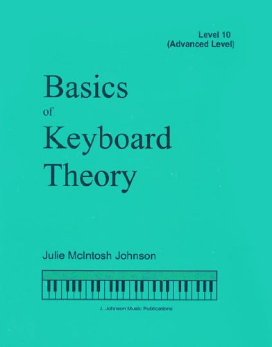 BKT10 - Basics of Keyboard Theory Level 10 (Advanced - Dvd Basics Keyboard