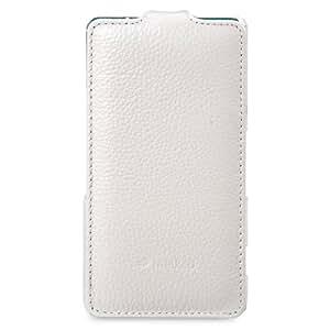 Melkco 4895158699994 Tipo Funda de Cuero para Sony Xperia Z3 Compact/Z3 Mini Blanco