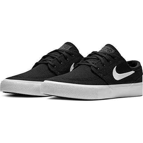 Nike SB Zoom Janoski Canvas RM Men's Shoes - AR7718 (9.5 M US, Black/White-Thunder Grey)