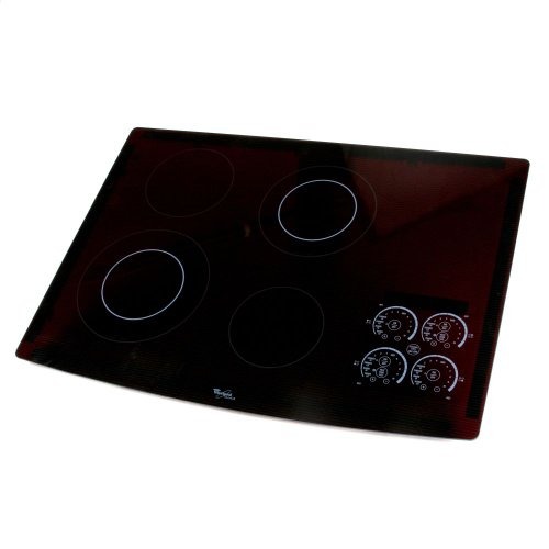 (Whirlpool W10239867 Cooktop Main Top Genuine Original Equipment Manufacturer (OEM) Part Black)