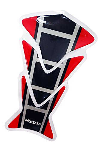 Motorcycle Accessories Racing Sports Logo Skeleton Gas Tank Protector Pad Decal Sticker Red For 1991 1992 1993 1994 1995 1996 1997 1998 1999 2000 2001 2002 2003 2004 2005 2006 2007 Honda CBR600 F2 F3 F4 F4i