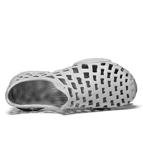 Flops Par Fuera Hueco Casual Sandal Flip Zapatos Par Flops Gris Hombres ALIKEEY 52ed4c