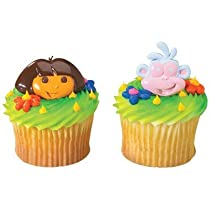 Dos Amigos Cupcake Rings 12 Pack
