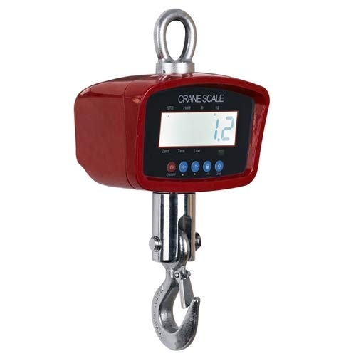 - Optima Scale OP-924B-3000 Digtial Portable Industrial Hanging LCD Crane Scale With Remote Control, 3000 LBS x 1 LBS NEW