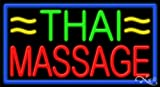 Thai Massage Handcrafted Energy Efficient Real Glasstube Neon Sign