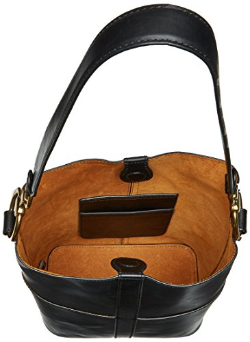 Leather Hobo Black Bag Ilana Harness FRYE Bucket Wzft6Fnq