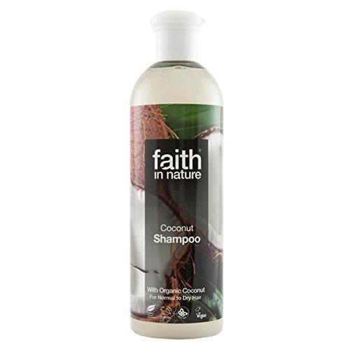 印をつける韻甘美なFaith in Nature Coconut Shampoo 400ml (Pack of 6) - (Faith In Nature) 自然ココナッツシャンプー400ミリリットルの信仰 (x6) [並行輸入品]
