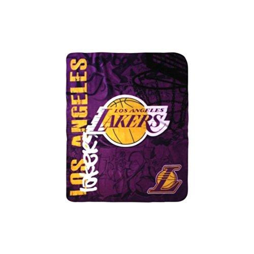 "NBA Los Angeles Lakers 50"" x 60"" Hard Knocks Fleece Throw Blanket"