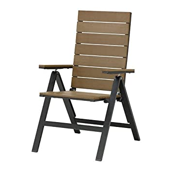 IKEA FALSTER   Position Chair, Black, Brown