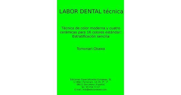 Amazon.com: Estraficación de cerámica sencilla (Labor Dental ...