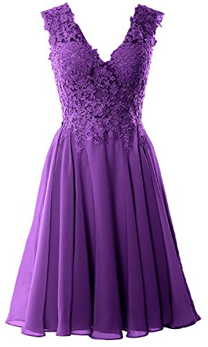 Lace Dress Short Regency V Prom Formal Homecoming Gorgeous MACloth Cocktail Gown Neck qTIXqY4x