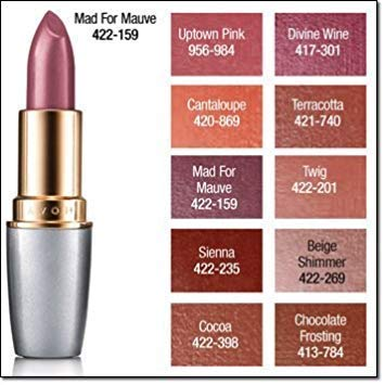 Avon Beyond Color Plumping Lipcolor SPF 15, 0.13 oz (Mad for Mauve)