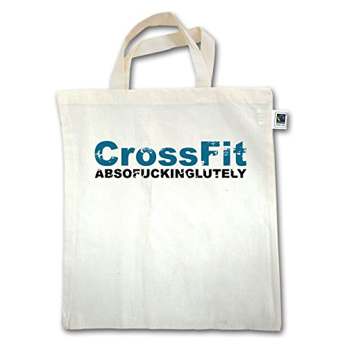 Crossfit & Workout - Crossfit Absofuckinglutely - Unisize - Natural - Xt500 - Manico Corto In Juta