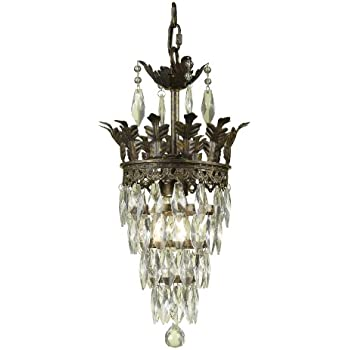 Af lighting 7507 1h sovereign mini chandelier amazon af lighting 7507 1h sovereign mini chandelier aloadofball Gallery