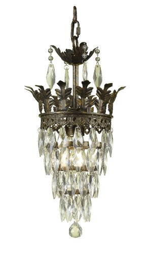 AF Lighting 7507-1H Sovereign Mini Chandelier