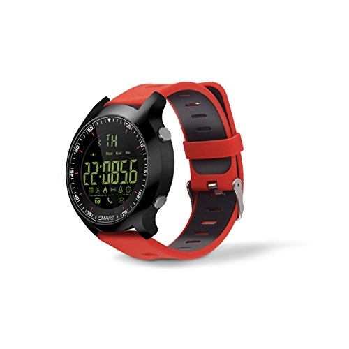 AOWO X6 Sports Smart Watch 5 ATM & IP67 Waterproof for Android iPhone IOS with Camera and Wifi, Smart Watch for Men Women