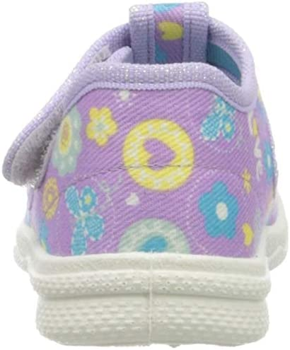 Viola 23 EU Lila 90 Pantofole a Stivaletto Bambina superfit Polly