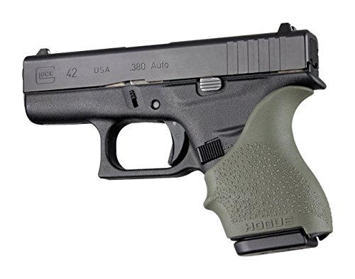 Hogue-HandAll-BGS-for-Glock-4243-OD-Green