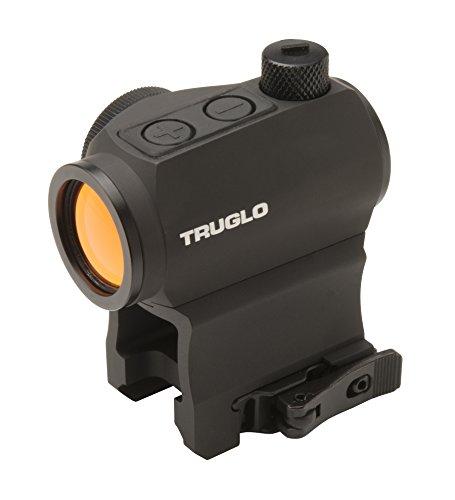 (TRUGLO TG8120QN Tru Tec Red Dot Sight 1x20mm, 2 MOA Dot, QD Weaver/Picatinny-Style Mount Matte)