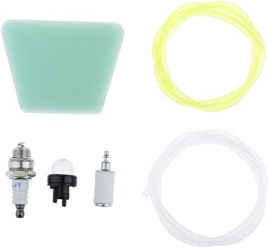 Chainsaw Fuel Filters Gas Line Primer Bulb Kit Part For Mcculloch 3200 3205 3210