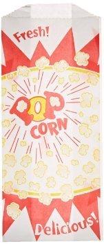 1 oz. Popcorn Bag, Burst Design, 1000 per Case