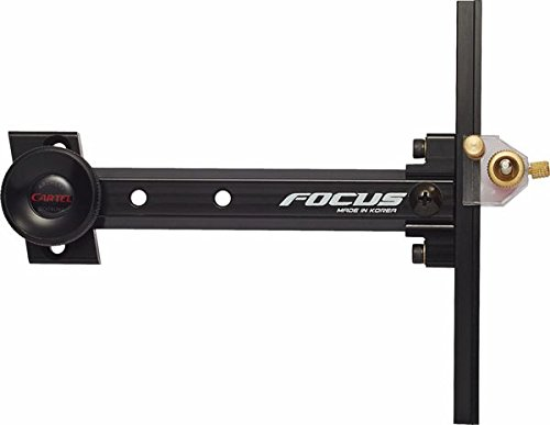 Cartel Archery Sight Junior Focus for Recurve Bows RH//LH Black