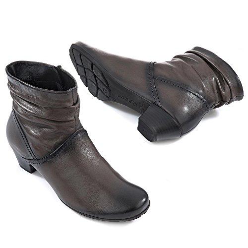 De Gabor Vrouwen Enkellaars - Zwarte Schoenen In De Maten Over Grijs (grijs)