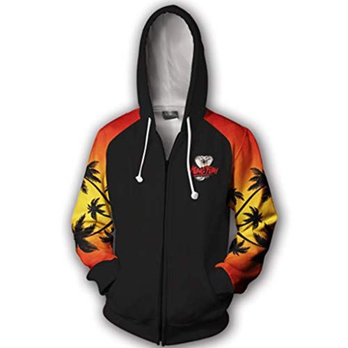 Karate Kid Cobra Kai Hoodie Retro Movie Classic
