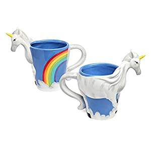 ThinkGeek 3D Unicorn Mug