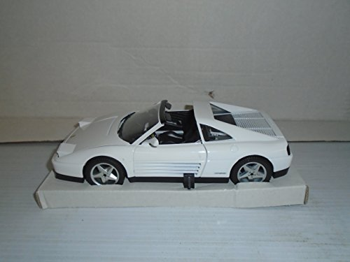 Mira Die Cast Car 1/18 Scale Ferrari 348 TS (White) Die Cast ()
