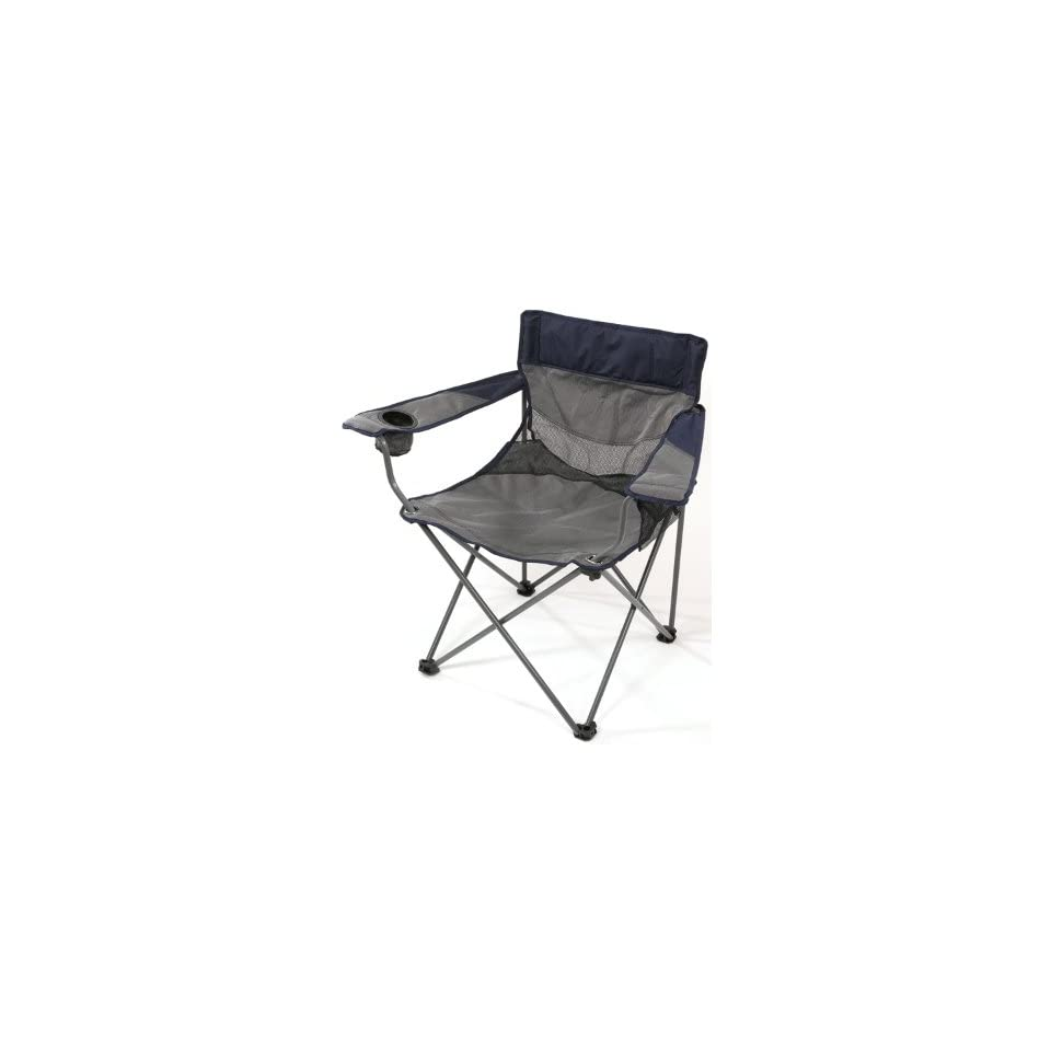 Extra Wide Folding Chair Oversized Camping Chair Foldable Chair Heavy Duty Foldable Chair (with Carry Bag)