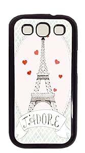 TUTU158600 Print Hard Shell case for samsung galaxy s3 - Eiffel Tower Poster