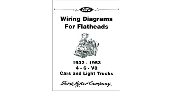 Plete Unabridged 1932 1933 1934 1936 1937 1938 1939 1940 1941 1942 Ford Flathead V8 Engine Electrical Wiring Diagram Schematics Manual Includes 4 6: 1942 Ford Wiring Diagrams At Executivepassage.co