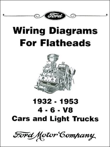 (COMPLETE & UNABRIDGED 1932 1933 1934 1936 1937 1938 1939 1940 1941 1942 FORD FLATHEAD V-8 ENGINE ELECTRICAL WIRING DIAGRAM SCHEMATICS MANUAL Includes 4 & 6 Cylinder Engines)