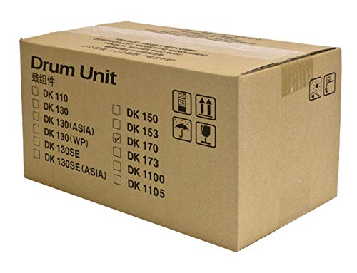 Kyocera Mita, Copystar OEM Drum Unit,DK170, Black, 100K Yield