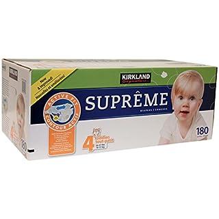 Kirkland Diapers - Size 4-180 ct