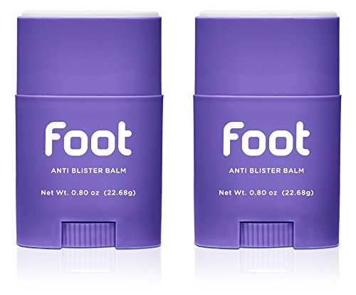 Body Glide Foot Anti Blister Balm, (2-Pack, 0.80-Ounce)